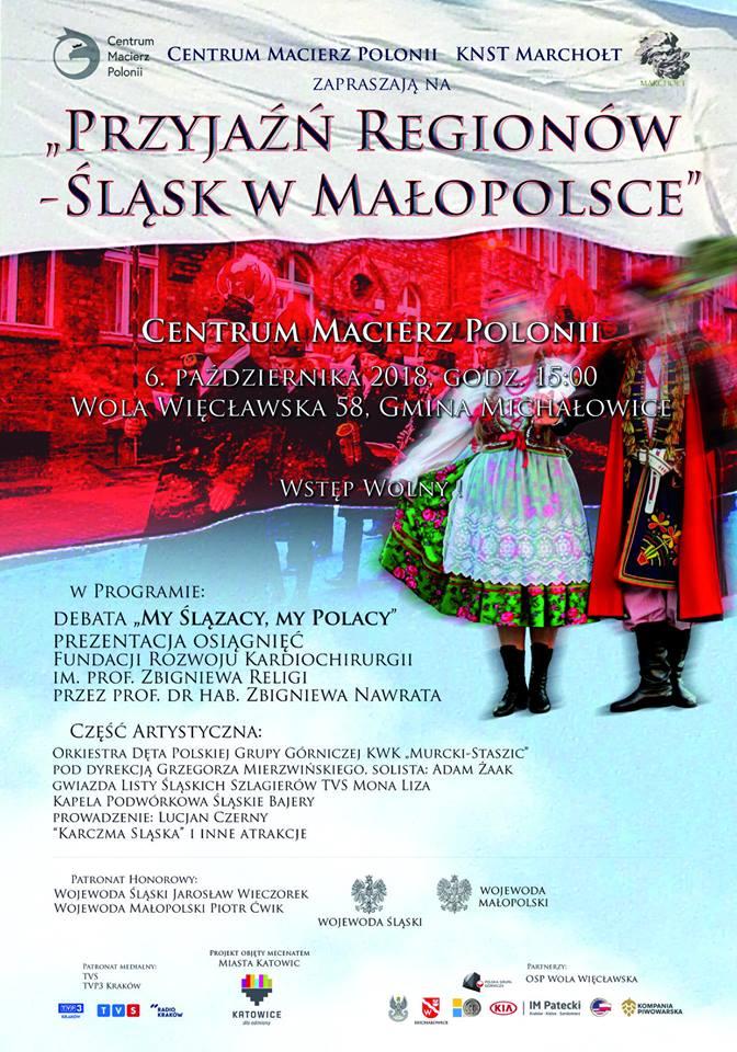 Przyjaźń regionów- Śląsk w Małopolsce