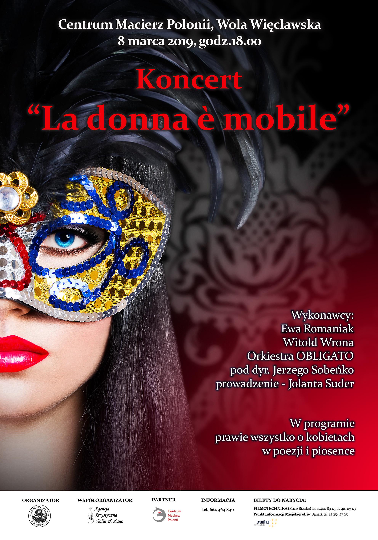 "Koncert ""La donna e mobile"""